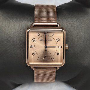 Michael Kors Womens Brenner Mesh Bracelet Watch-RG